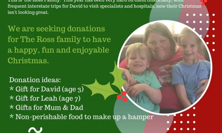 Christmas Spirit - Help a local family in Need