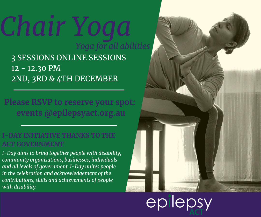 Chair Yoga - Book now