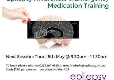 Epilepsy Awareness & Emergency Medication Training Thursday 6th May